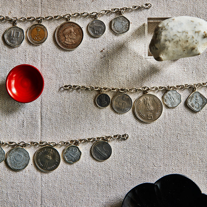 Coin Charms on a Chain