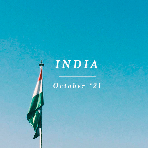 INDIA EXCURSION 31 October - 5 November 2021
