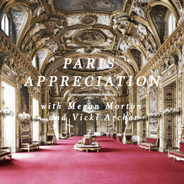 FREE  -  PARIS APPRECIATION WITH VICKI ARCHER! 19 APRIL 2018