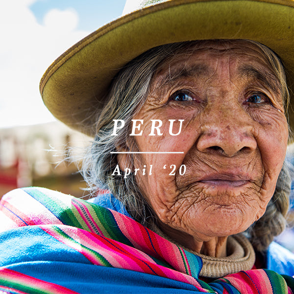 PERU EXCURSION - 24th APRIL - 9 MAY 2020
