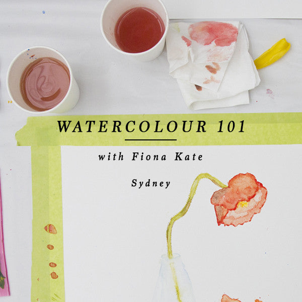 WATERCOLOUR 101 - SYDNEY 27 October 2018