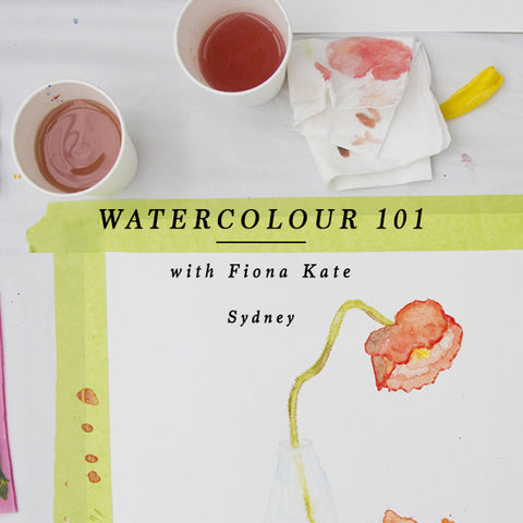 WATERCOLOUR 101 - SYDNEY