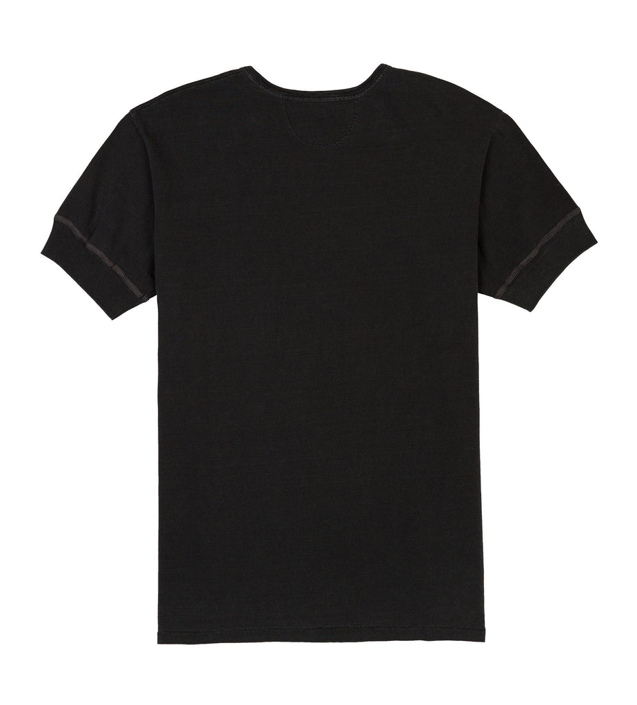 ss henley tube tee sunfade black detail two