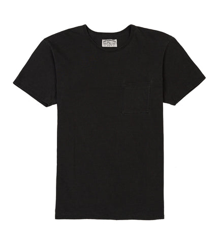 pocket tube tee sunfade black detail one