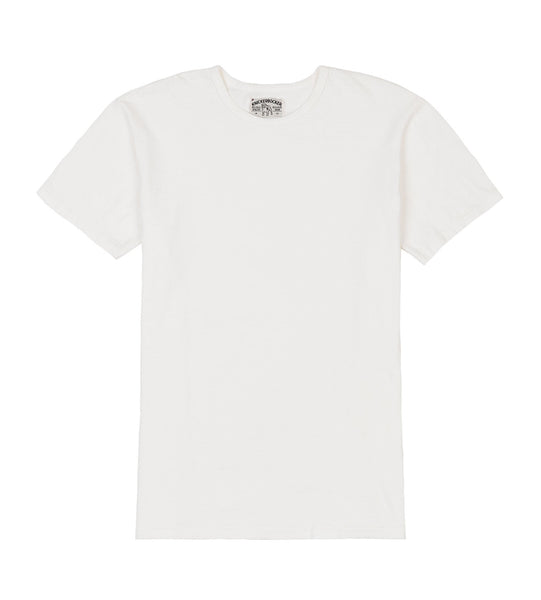 tube tee sunfade white detail one