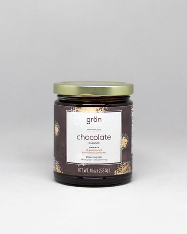 Hemp-Infused Chocolate Sauce - The Verist