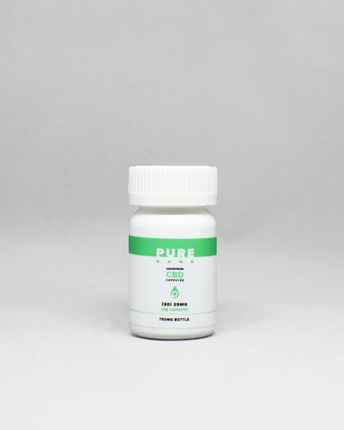 25mg Softgel CBD Capsules - The Verist