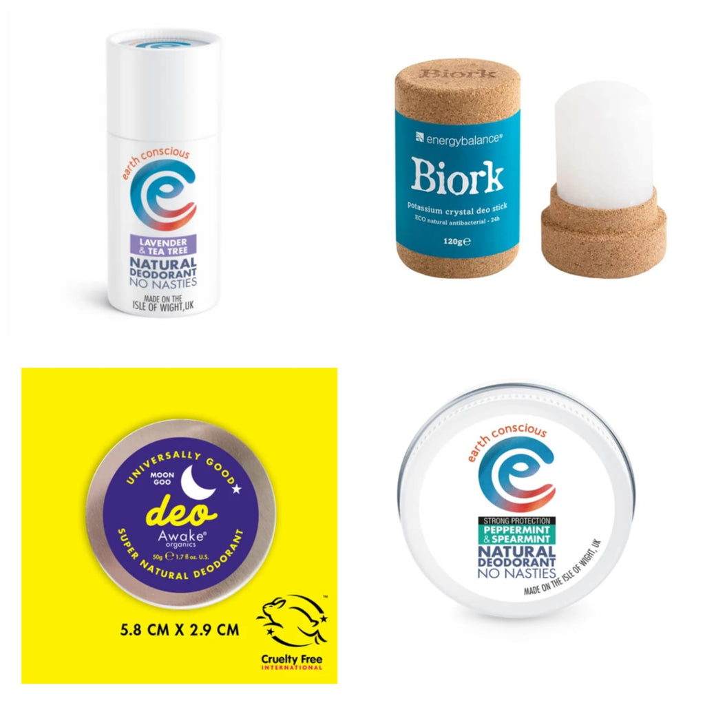 Choosing a Plastic-Free Deodorant That is Better for You and The Environment