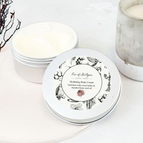 Eve of St Agnes Body Cream 250ml lid off