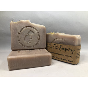 Handmade Vegan Soap - Chamomile and Lavender 100g