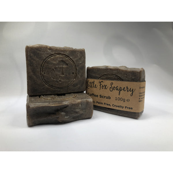 Coffee Scrub exfoliating natural soap