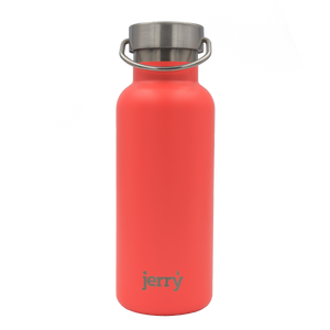 Insulated water bottle - coral - profits to waterfall charity
