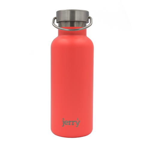 Reusable water bottles - coral pink