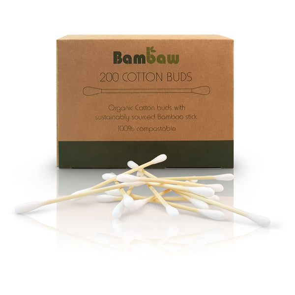Bamboo Cotton Buds x 200