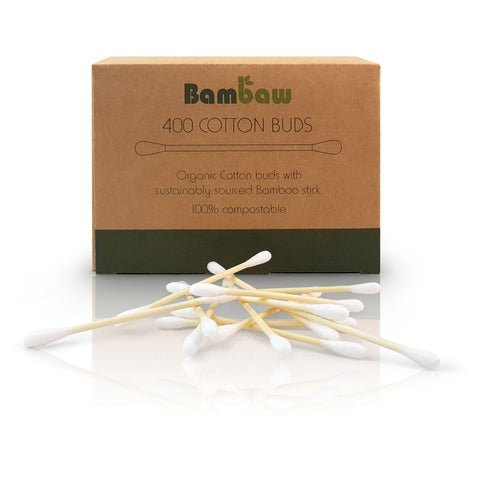 Bamboo Cotton Buds x 400