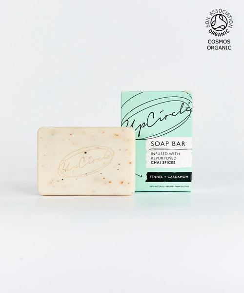Fennel and Cardamon Soap with box