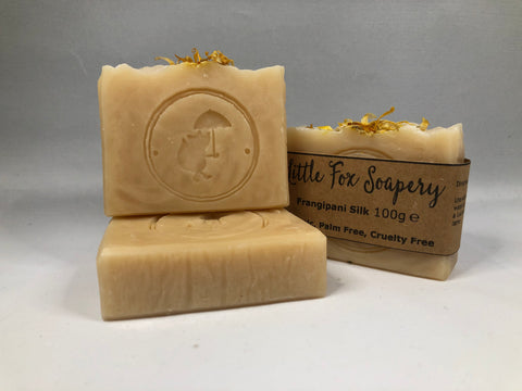 Handmade Natural Soap - Frangipani Silk