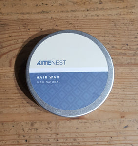 Natural hair wax - closed tin