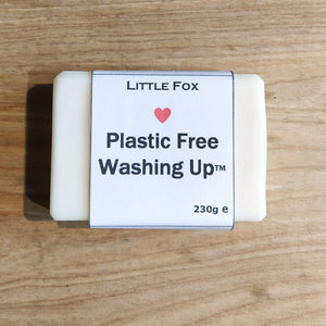 Plastic-free Washing Up Soap Bar - Unscented