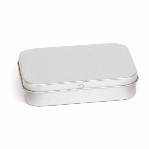 Large soap tin, hinged lid