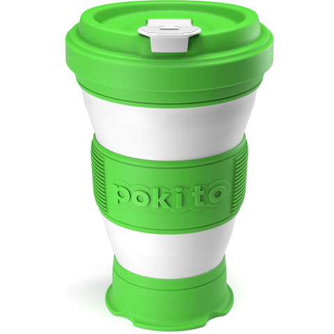 Collapsible Coffee Cup - Green