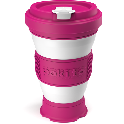 Collapsible Coffee Cup - Pink