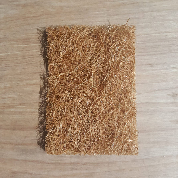 Natural Scrub pad out of pack