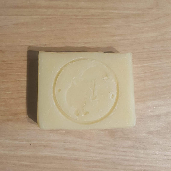 Plastic free shampoo bar with Little Fox stamp