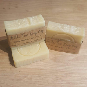 Plastic free shampoo bars - three bars