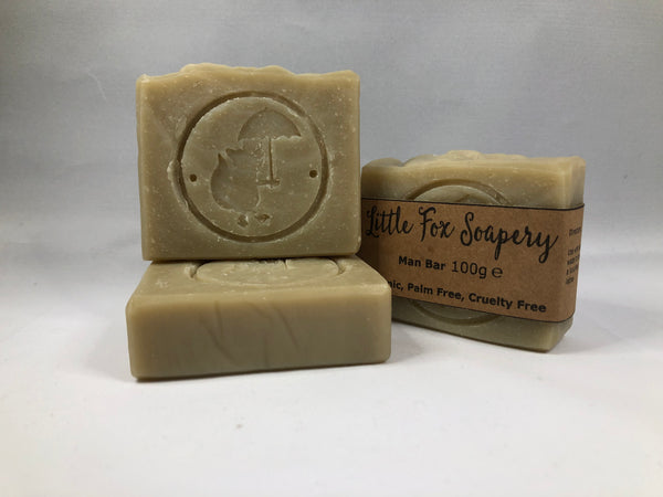 Handmade Natural Soap - Man bar / shaving soap