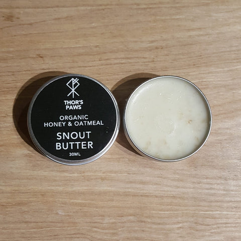 Natural, plastic free snout butter