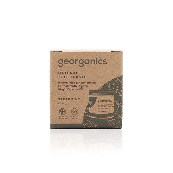 Plastic-free, natural toothpaste box