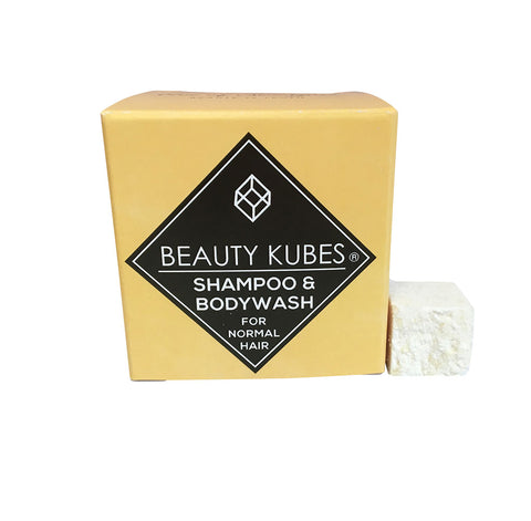 Natural, plastic free Beauty Kubes Shampoo and body wash