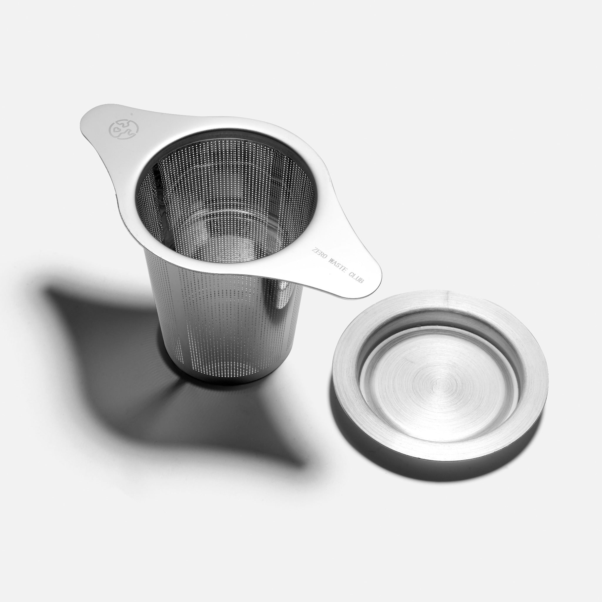 Zero Waste Club reusable stainless steel tea strainer