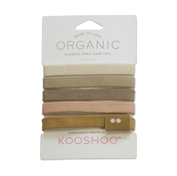 Plastic free Hair Ties - Blonde