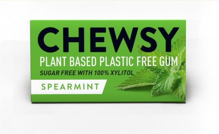 Chewsy plastic free chewing gum - spearmint