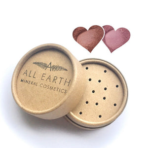 All Earth Mineral Cosmetics Blusher in Eco Pots