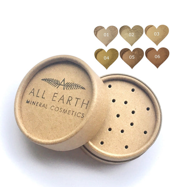 All Earth Mineral Cosmetics Foundation in Eco Pots