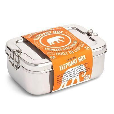 Elephant Box stainless steel lunchbox 2 litre