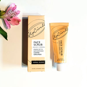 UpCircle Coffee Face Scrub - Herbal Blend