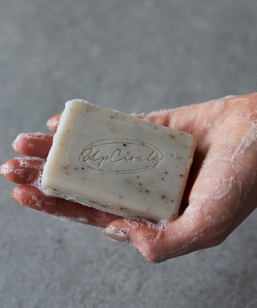 Fennel and Cardamon Soap washing hands