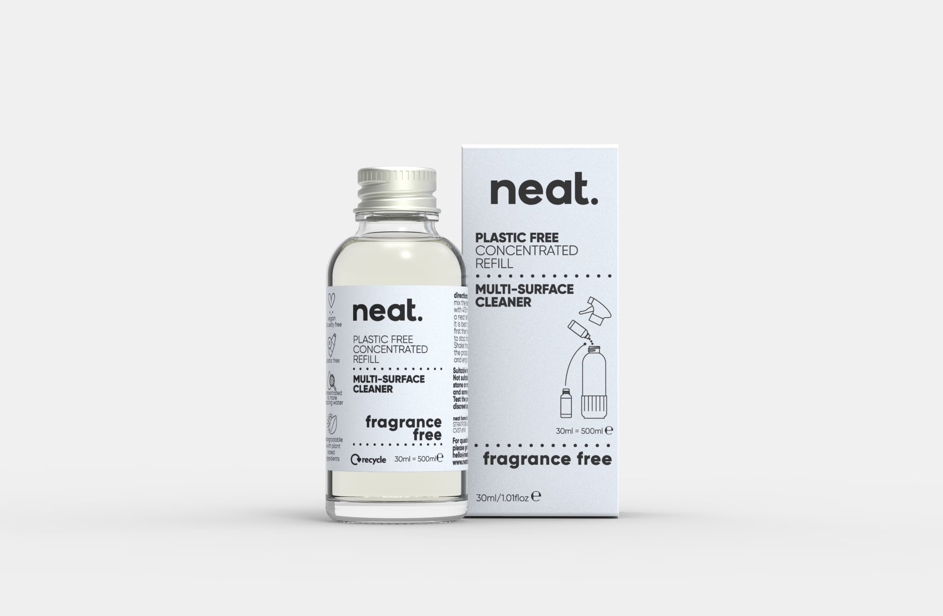 Neat Multi Purpose Cleaner Refill - Fragrance Free