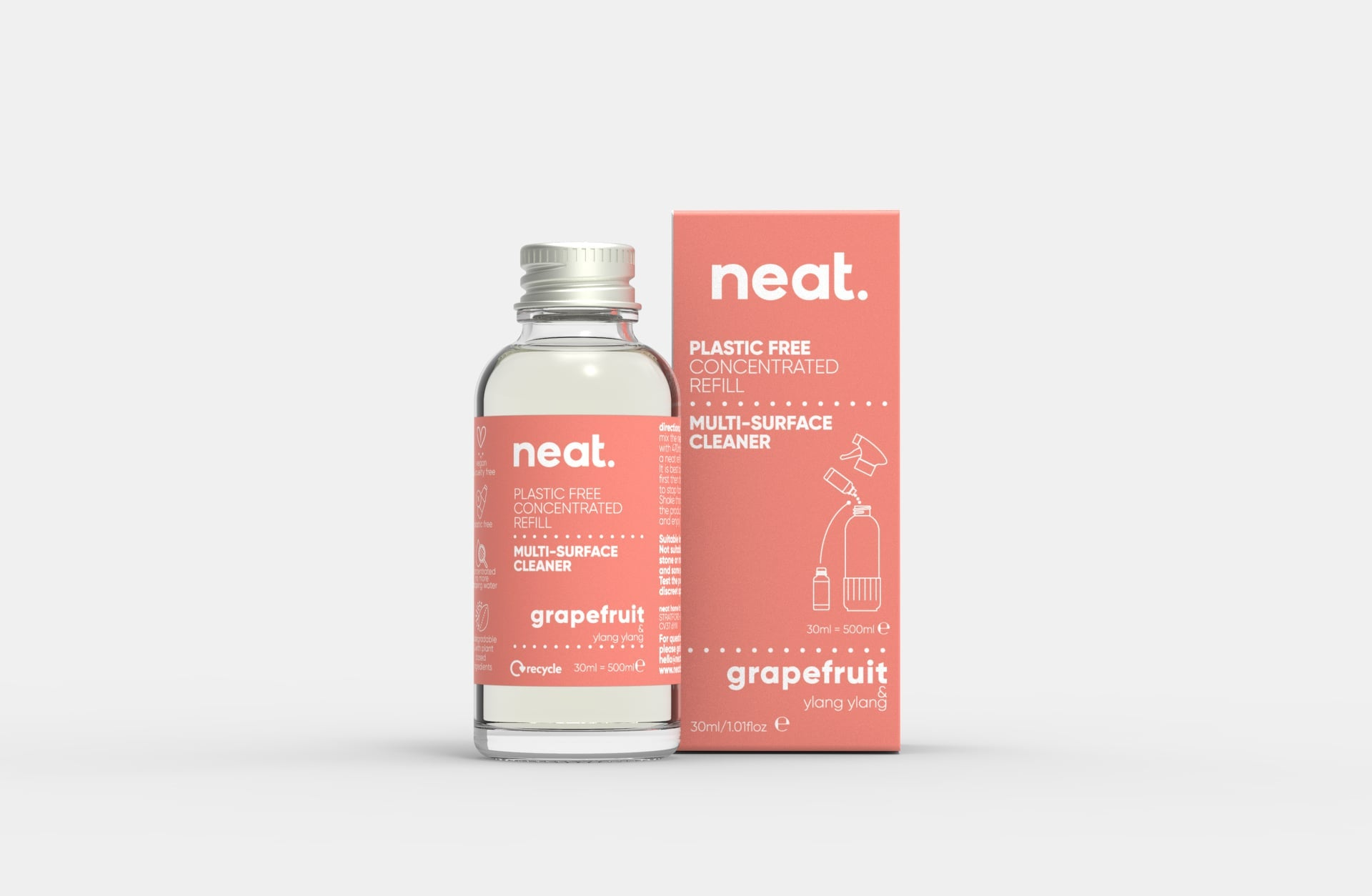 Neat Multi Purpose Cleaner Refill - Grapefruit and Ylang Ylang