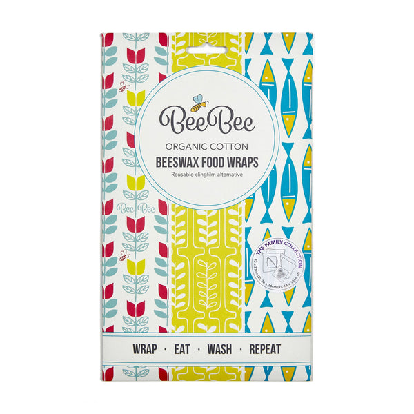 BeeBee Wraps Cheese Collection Front Packaging