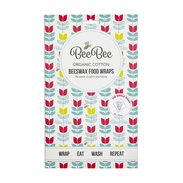 BeeBee Wraps Tulips Front Packaging