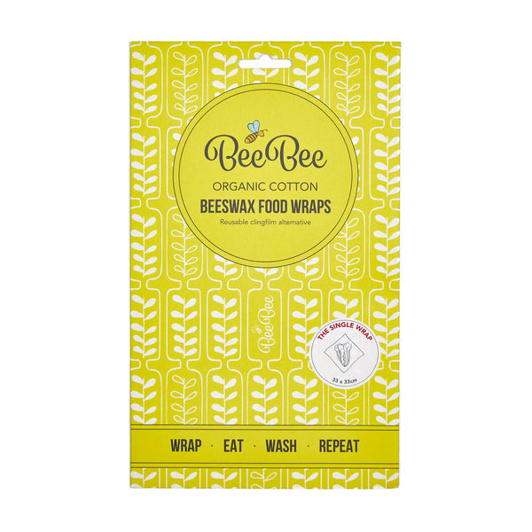 BeeBee Wraps Wheat Front Packaging