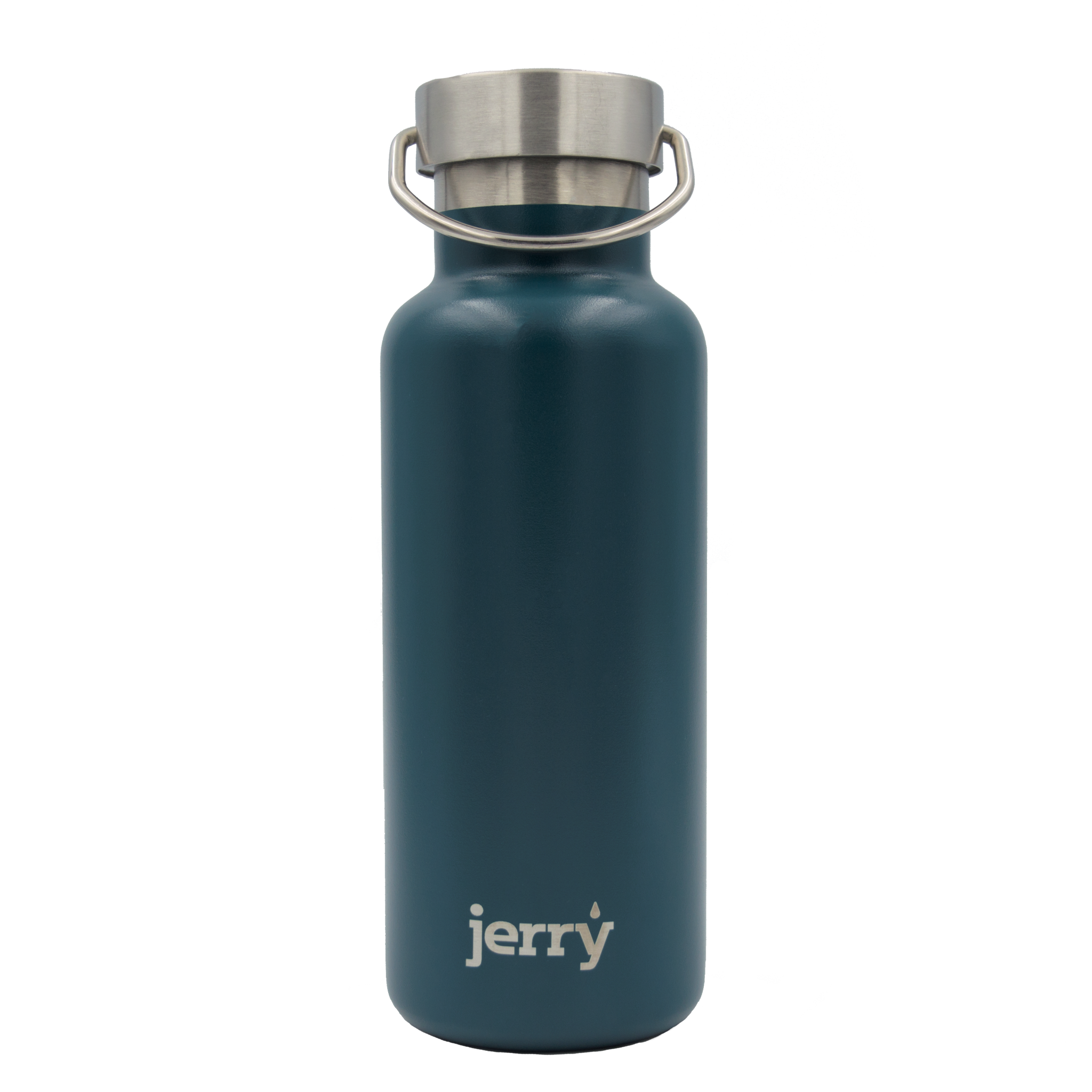 Insulated water bottle - teal - profits to waterfall charity