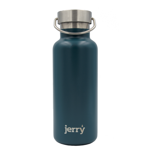 Reusable water bottle - teal