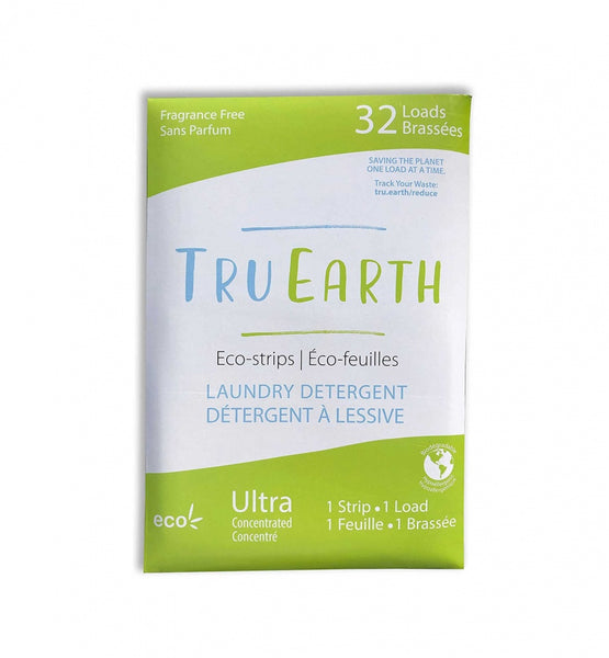 Tru Earth Laundry Eco-Strips - fragrance free