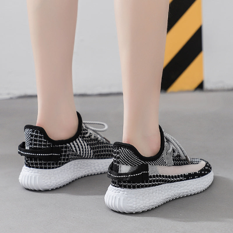 Woven Mesh Breathable Casual Sneakers